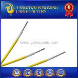 Tubo de cerâmica Use fio de trança elétrica isolada de silicone