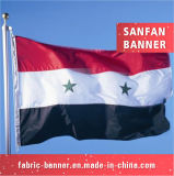 8 5 изготовленный на заказ Nylon выдвиженческими напольными национальными флагами