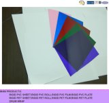 Hoja plástica rígida brillante o Matt coloreada del PVC para inmóvil