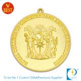 安いカスタム金の記念品のためのカスタム金属メダル