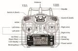 Vliegende X8 GPS 6 van de Hommel van RC Helikopter van de Afstandsbediening Quadcopter van de Hommels 2.4G RC van de As de Mini