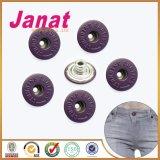 De Knopen van de Jeans van het Metaal van het Messing van de Steel van het Gat van de verf voor de Toebehoren van het Kledingstuk