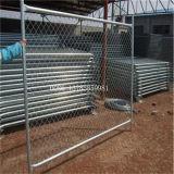 Горячая окунутая гальванизированная съемная или портативная временно панель загородки конструкции