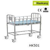 Carrinho de criança de bebê médico ajustável para o hospital (HK505)