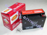 Yog recambios motos Wet batería Mf agua con el mantenimiento en seco sin ácido de la batería de almacenamiento 12n6 12n7 12n14