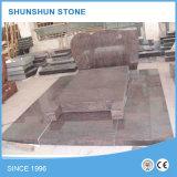 Fabbrica rossa del Headstone del granito di disegno semplice