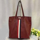 Мешок Tote размера кожаный сумок Cowhide большой для женщин Emg4578