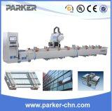 Filetage de fraisage de perçage en aluminium de profil de Parker traitant le centre