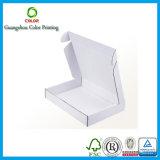 Cadre blanc fait sur commande de carton