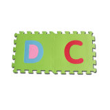 미친 판매 EVA 거품 조각그림 맞추기 매트 알파벳