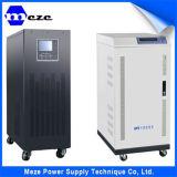 태양 UPS 짐 은행으로 3 단계 온라인 UPS 30kVA를 전력 공급