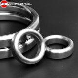 Matériau ovale de garniture