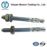Ancre de cale d'acier inoxydable/par le boulon/boulon d'expansion/baisse dans l'ancre