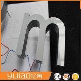 Yijiao Customed de fabrication professionnel 3D solide lettre légère