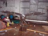 Insectes, jardin extérieur, sculpture décorative en acier inoxydable de décoration de syndicat de prix ferme