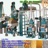 Projeto para clientes de Kenya da maquinaria de trituração do milho 10t/24h