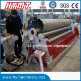 Máquina hidráulica da dobra de aço e de rolamento da placa dos rolos W12S-20X2500 quatro