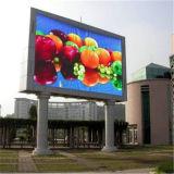 Buena calidad de la pantalla al aire libre a todo color de P10 LED