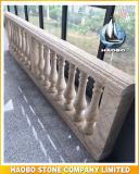 De marmeren Pijlers van de Steen van de Balustrade van het Balkon In het groot