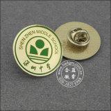 カスタム金属のバッジ、印刷の学校の折りえりPin (GZHY-LP-093)