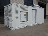 Container a basso rumore Type 1250kVA/1000kw Diesel Generator (KTA59-G8) (GDC1250*S)