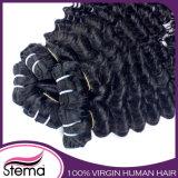 Оптовые соткать волос девственницы/выдвижение волос Remy/человеческие волосы бразильянина девственницы
