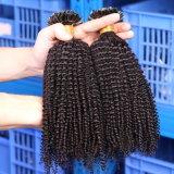 100%の純粋な担保付きの自然な人間の毛髪の拡張フリップケラチンの毛の拡張