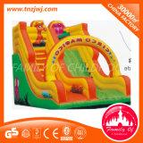 Castelo Bouncy inflável material do PVC com corrediça