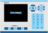 La varilla de empuje inspección de la tubería de la cámara TV de 60