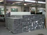 Perfil de alumínio da extrusão para mostrar o material