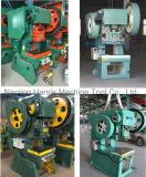 Série excêntrica mecânica da máquina de perfuração J23 da imprensa de potência