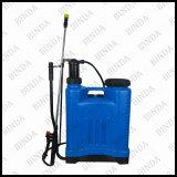 Pulvérisateur agricole de pression manuelle de sac à dos de sac à dos
