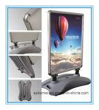 Mostra di pubblicità portatile esterna di alluminio della fiera commerciale di promozione