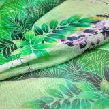 5.5mm Charmeuse de seda impresso reativo para a tela do vestuário