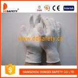 Ddsafety 2017 Weiß-Nylon mit weißem PU-Handschuh
