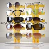 二重工場直売のアクリルのサングラスの表示棚(HY-YXA0016)