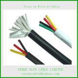 Câble de commande, câble de fil électrique pour le système de régulation électrique