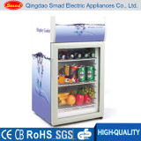Portable Compact Hotel Beverage Publicité Small Size Commercial Mini Fridge