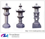 자연적인 화강암 돌 옥외 훈장을%s 현대 새기는 손전등 Pagoda