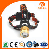 3W XPE LED ultra brillante 18650 Zoomable de emergencia