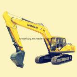 Excavador de la marca de fábrica 320 del mundo con el motor de Isuzu