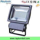 Comercial 100-240V deporte al aire libre de tierra 100W luz de inundación del LED