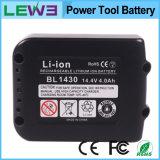 батарея електричюеского инструмента замены Li-иона 14.4V 3000mAh для Makita Bl1430