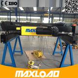 Double élévateur électrique de câble métallique de poutre de 10 tonnes (MLER10-06D)