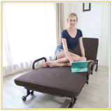 単一の眠る人の折るベッドかフォールドの折畳み式ベッド