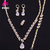 Gold der Dame-Dubai überzog Schmucksache-gesetzte Form-Halsketten-gesetzte Schmucksachen
