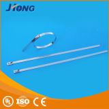 Dünner Kugel Selbst-Verschluss 316 Edelstahl-Kabelbinder