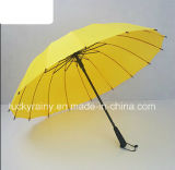 Прямое Auto Open Advertizing Umbrella с Pongee Fabric