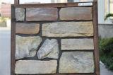 Pedra artificial do revestimento da parede de pedra do material de construção (YLD-92006)