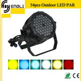 54 * 3W Stage LED PAR Lamp com CE e RoHS (HL-034)